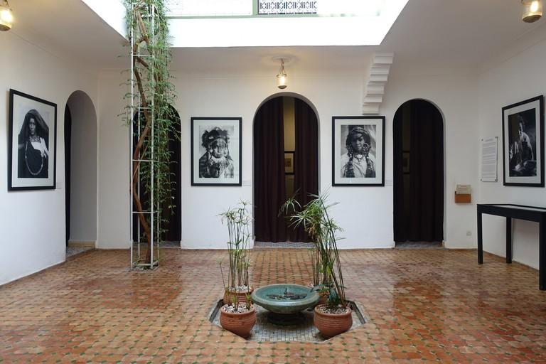 Maison de la Photographie de Marrakech, Morocco.