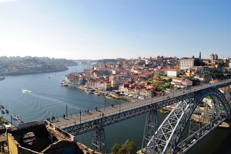 A view of Porto and the river Douro
