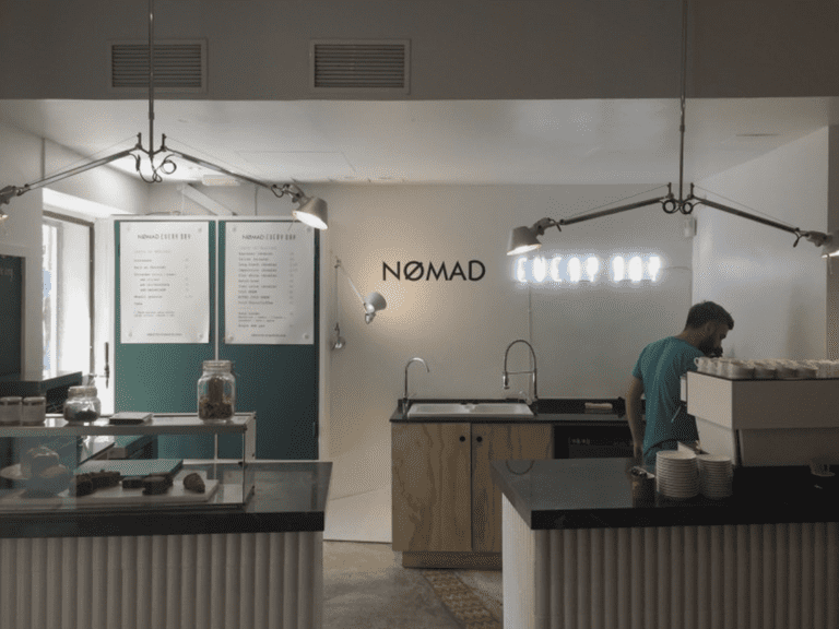 Nømad was one of the first cafés to introduce third-wave coffee culture to Barcelona