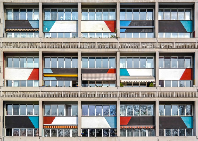 The Architectural Work of Le Corbusier collective site represents the architect's pioneering role in 20th-century design