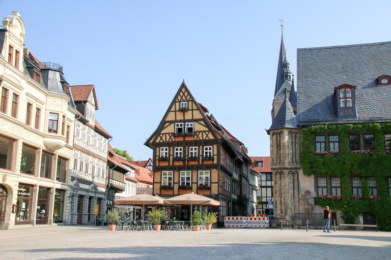 Quedlinburg is a small town with plenty of Medieval charm