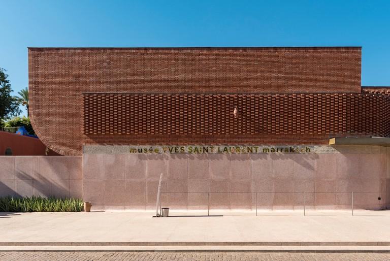 Yves Saint Laurent Museum Building, Marrakech, Morocco.