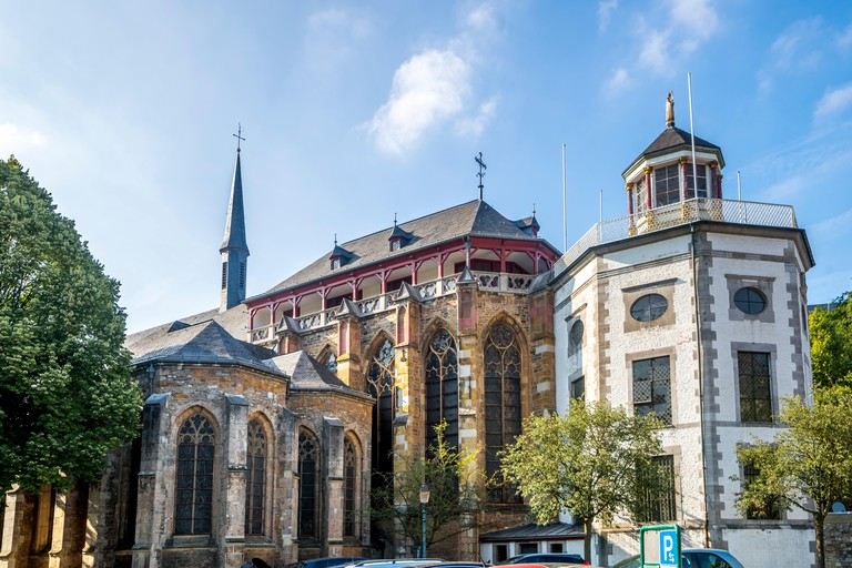 Aachen Cathedral is the resting place of Emperor Charlemagne, who ordered the cathedral's construction around 790-800