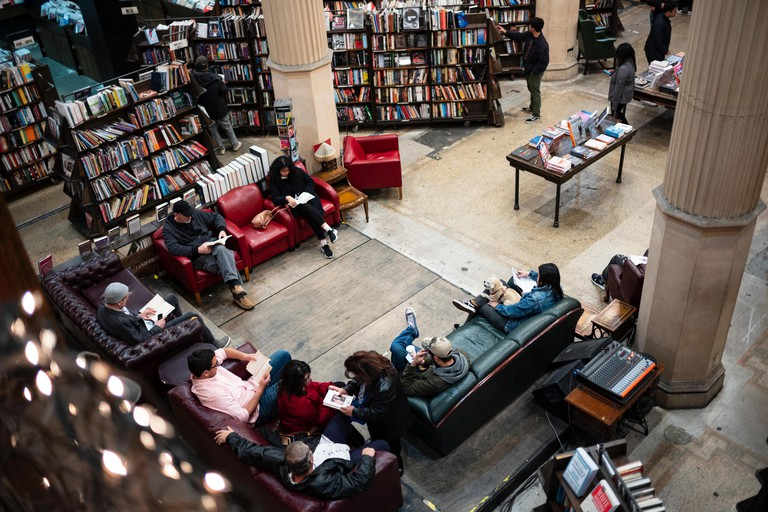 The Last Bookstore, is an independently owned bookstore in Los Angeles, California and claims to be the largest in the state.