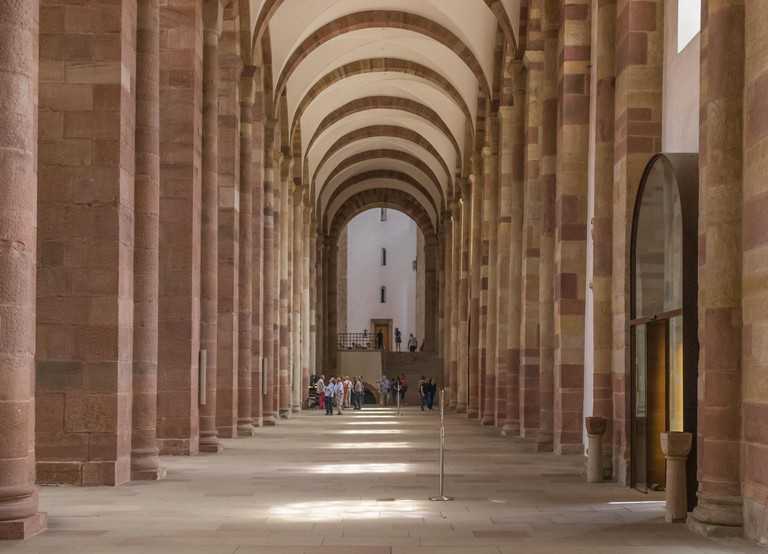 Speyer Cathedral exemplifies Romanesque architecture at its finest