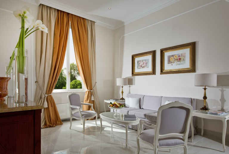 Aldrovandi Villa Borghese is close to the city centre