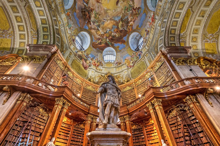Prunksaal or State Hall, Austrian National Library