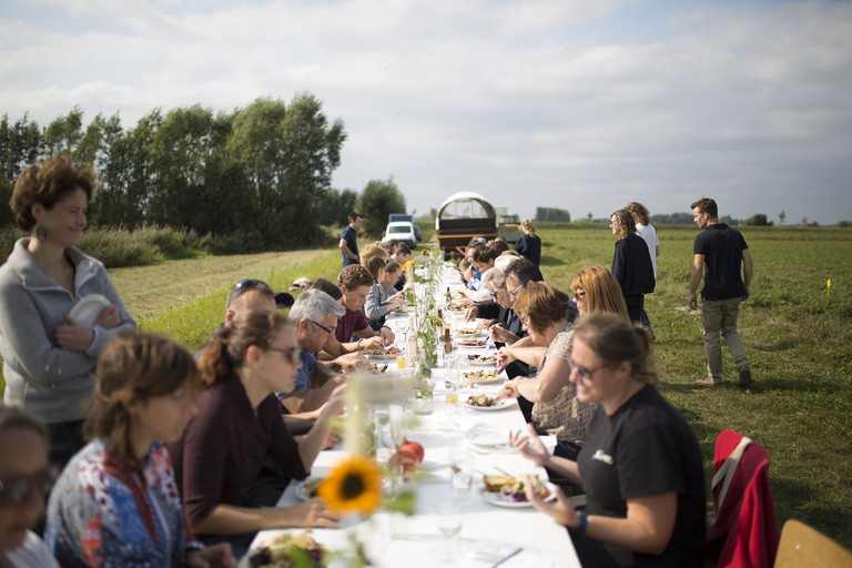 61-Harvesting & Dining in the Field