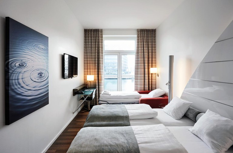 Copenhagen Island Hotel is situated on the city's harbour