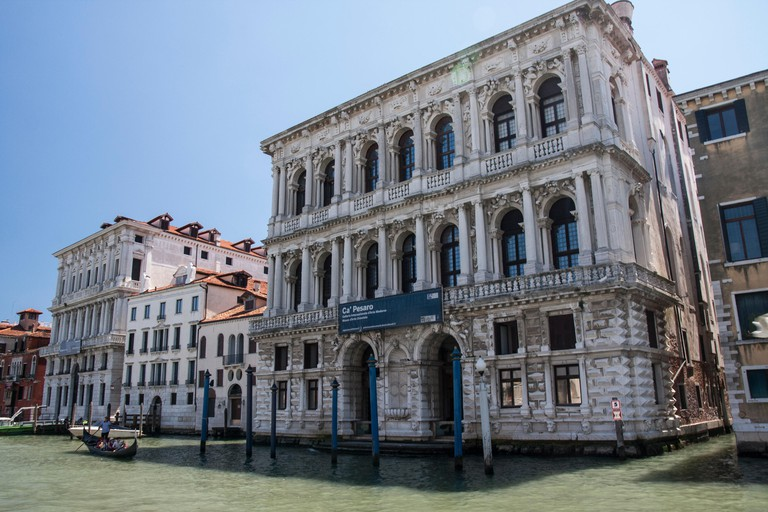 International Modern Art Gallery Ca' Pesaro in Venice, Italy