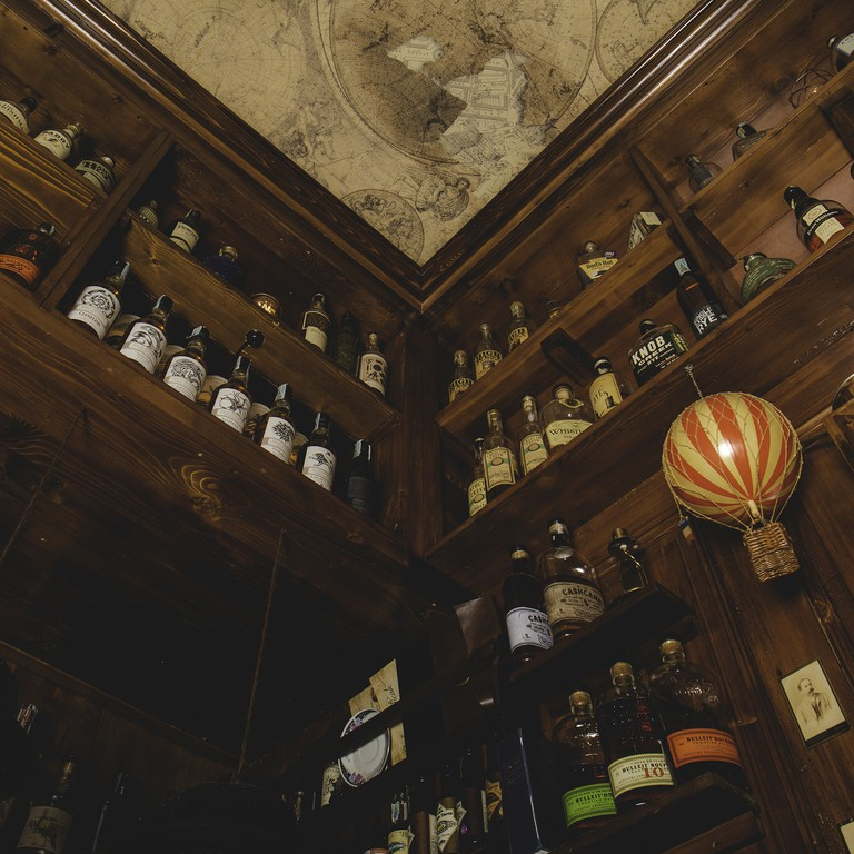 BackDoor 43 is allegedly the smallest bar in the world