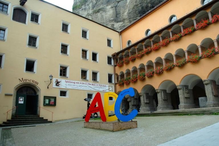 The Toy Museum in Salzburg in Austria.