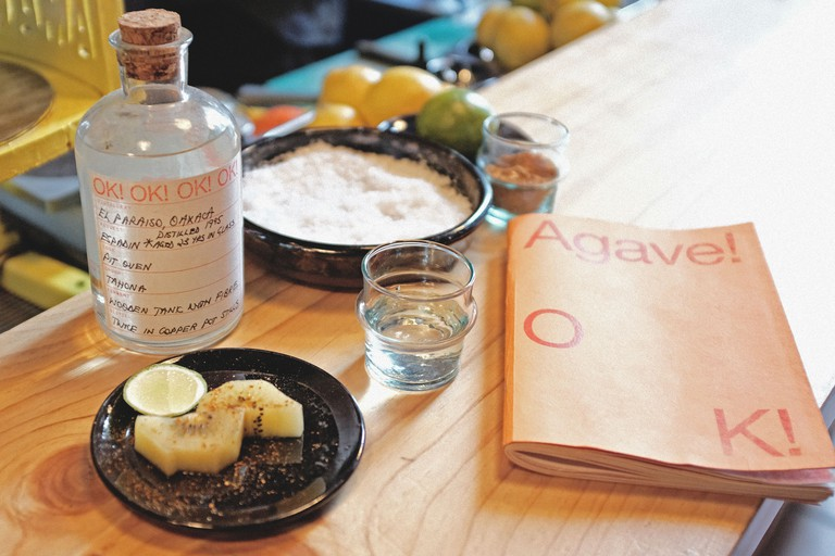 Cantina OK! serves mezcal specially selected by its team