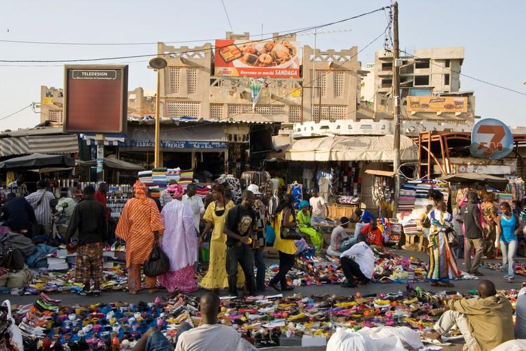 Sandaga Market in Dakar
