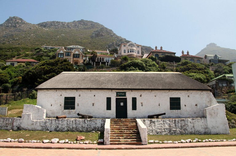Posthuys Museum at Muizenberg in South Africa