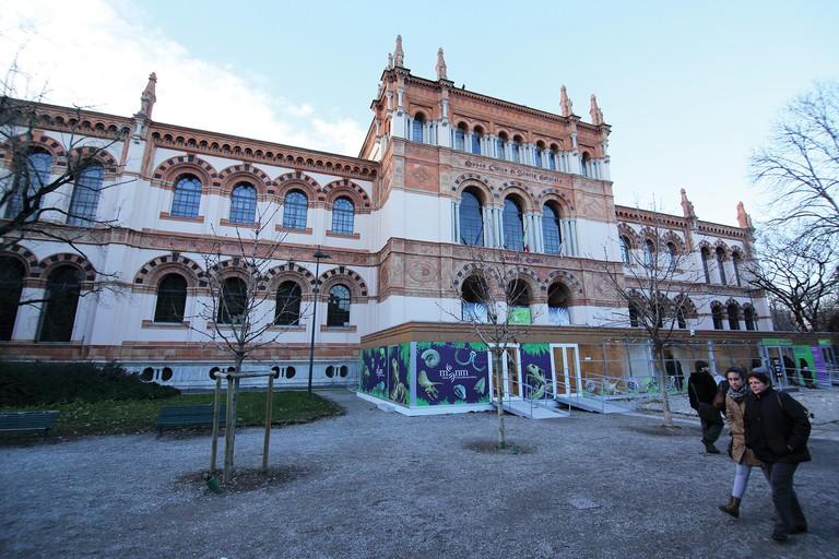 Children will love the dinosaur fossils at the Museo di Storia Naturale di Milano