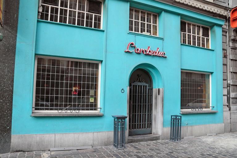 L'Archiduc restaurant in Brussels, Belgium.