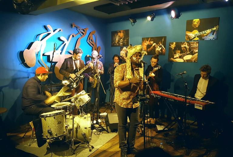 Duende Jazz bar in Thessaloniki