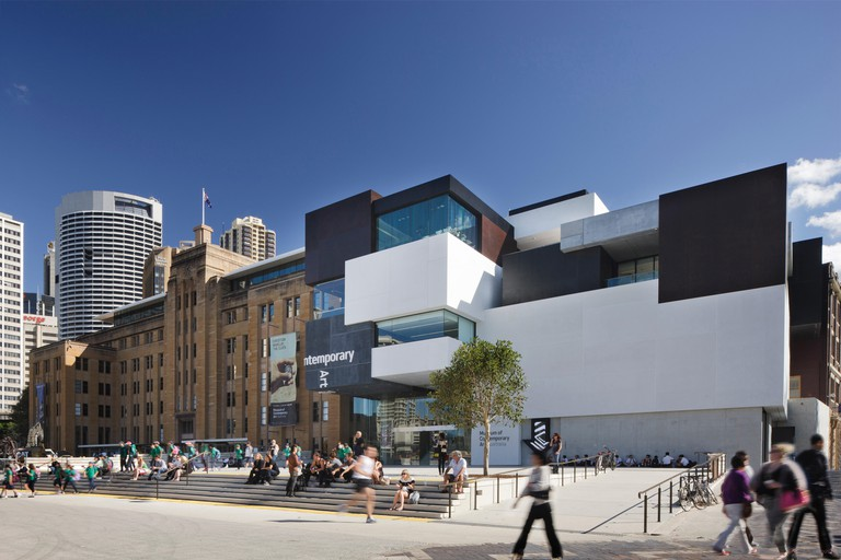 Mordant Wing, Museum of Contemporary Art Extension, Sydney, Australia