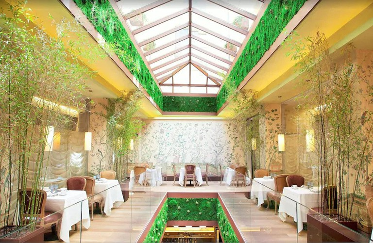 URSO Hotel and Spa's design charmingly recalls its days as a palace