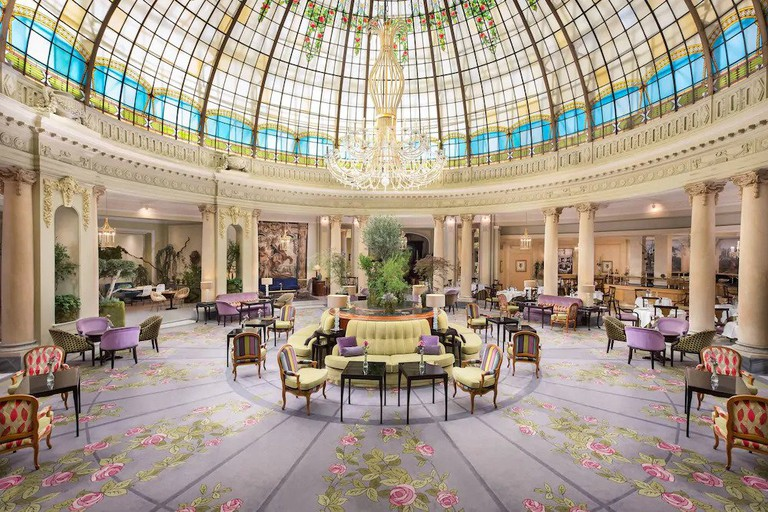 Ernest Hemingway, Pablo Picasso and Salvador Dalí were known to frequent The Westin Palace