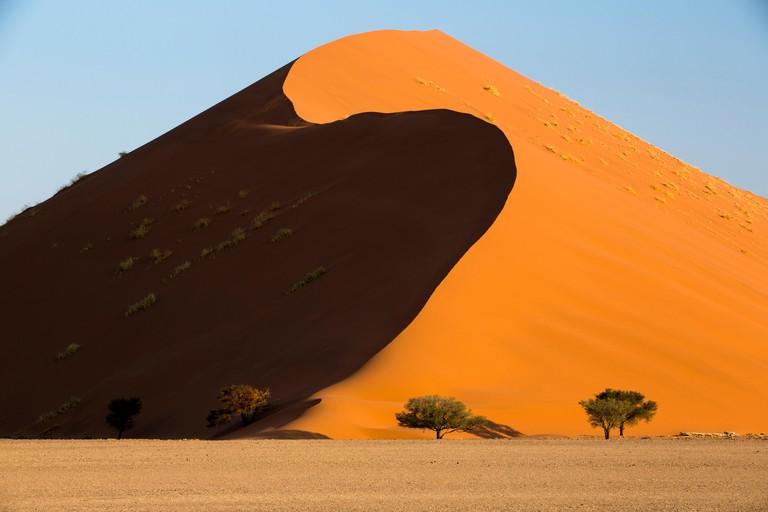 Sossusvlei sand dune, Naukluft National Park, Namibia, Africa