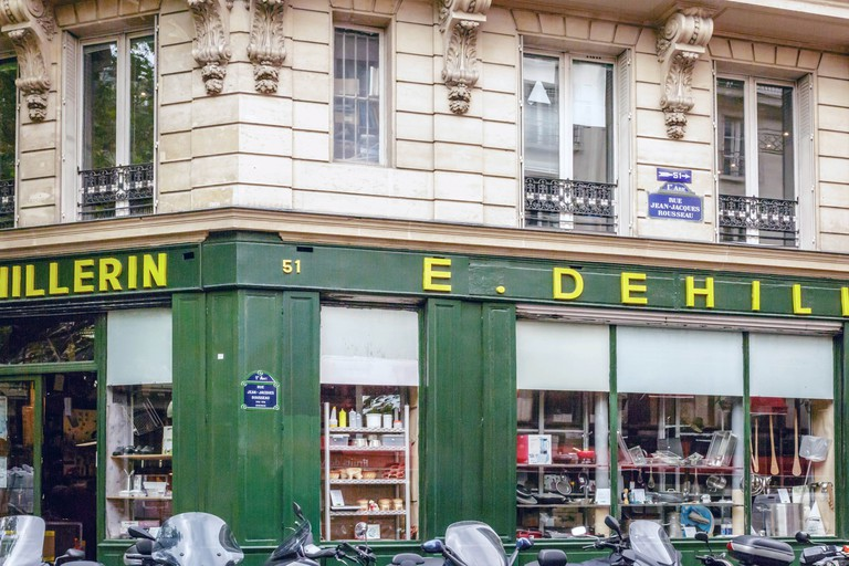 E. Dehillerin is an Aladdin's cave of cookware