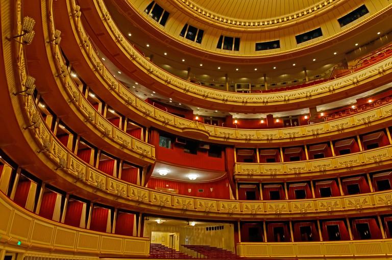 Viennese state opera,seats,auditorium