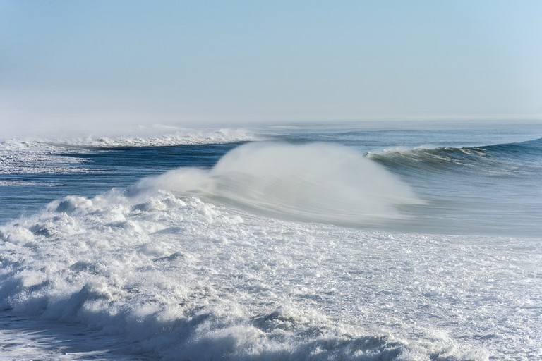 Seascape with wave, Essaouira, Morocco