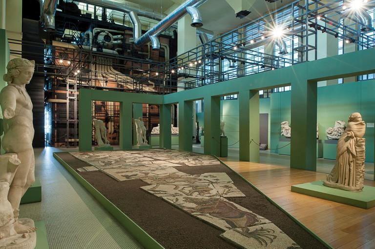 Sculptures. Centrale Montemartini Museum. Rome, Italy