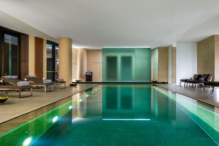 spa at The Bvlgari hotel milan