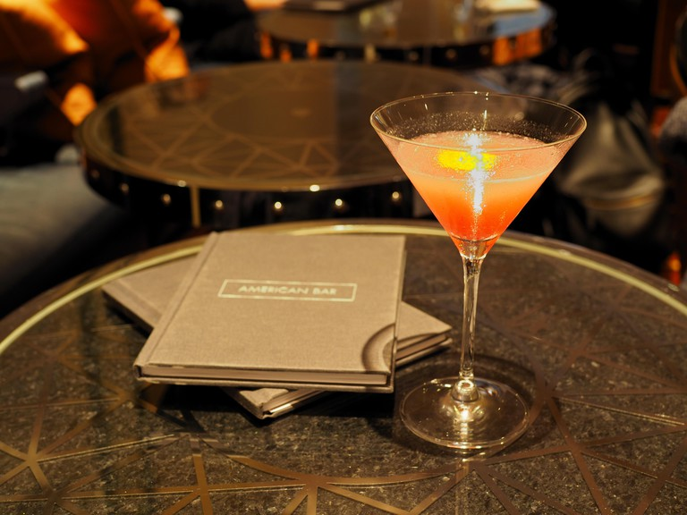 The American Bar at the Savoy Hotel, London