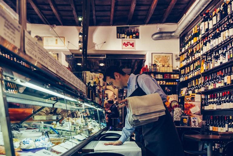 Roscioli restaurant and delicatessen in Rome