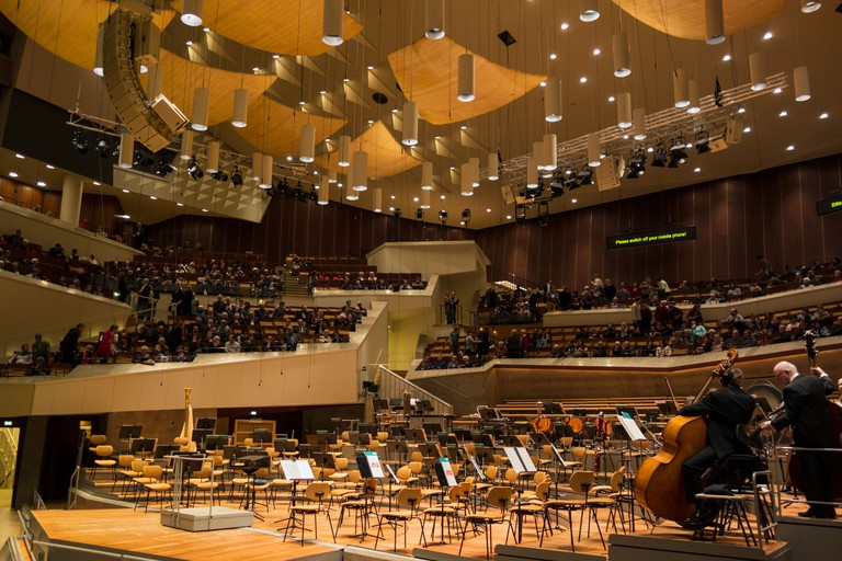 Philharmonie Berlin concert hall