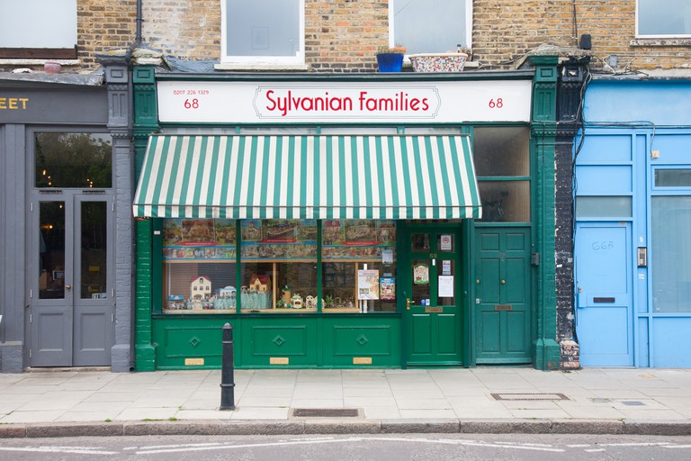 The Sylvanian Families Shop is the only bricks-and-mortar space in the UK dedicated to selling the miniature animal figures