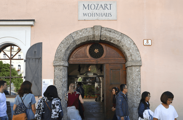 Mozart Residence museum