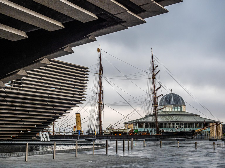 Discovery Point in Dundee is a visitor attraction which centres round Captain Scott of the Antarctic?s ship RRS Discovery which was built in Dundee in