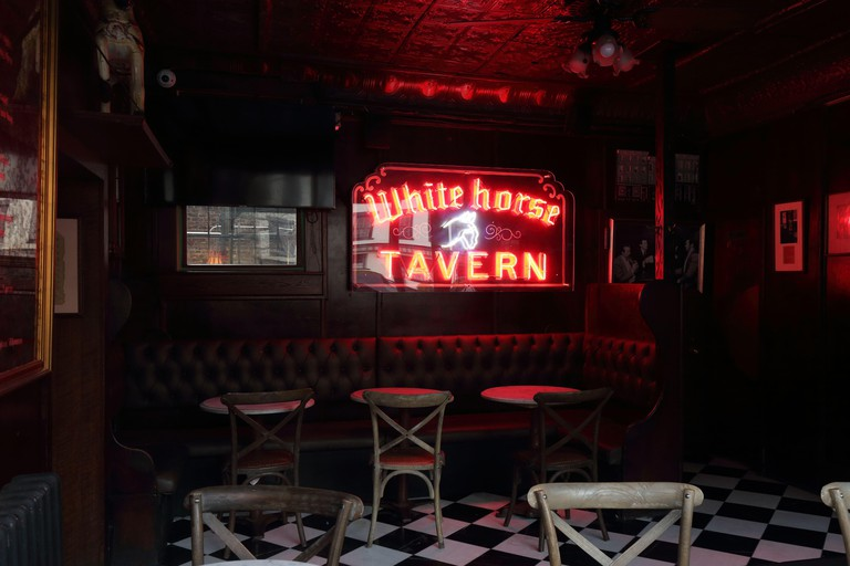 White Horse Tavern, 567 Hudson St, New York, NY. Image shot 12/2019. Exact date unknown.