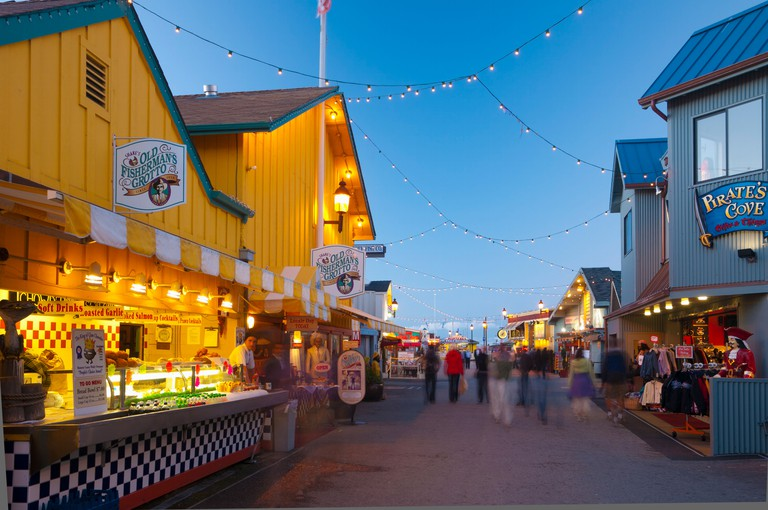 Old Fisherman's Grotto is a stalwart of Monterey's food scene