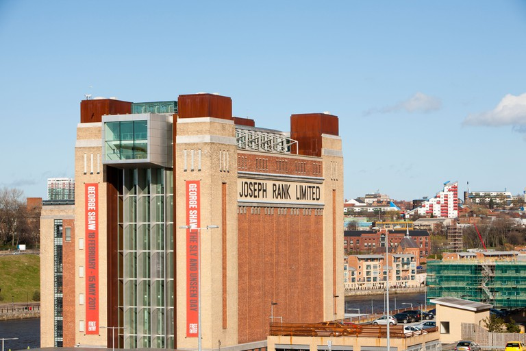 The Baltic centre for contemporary arts in Gateshead, Tyneside, UK.