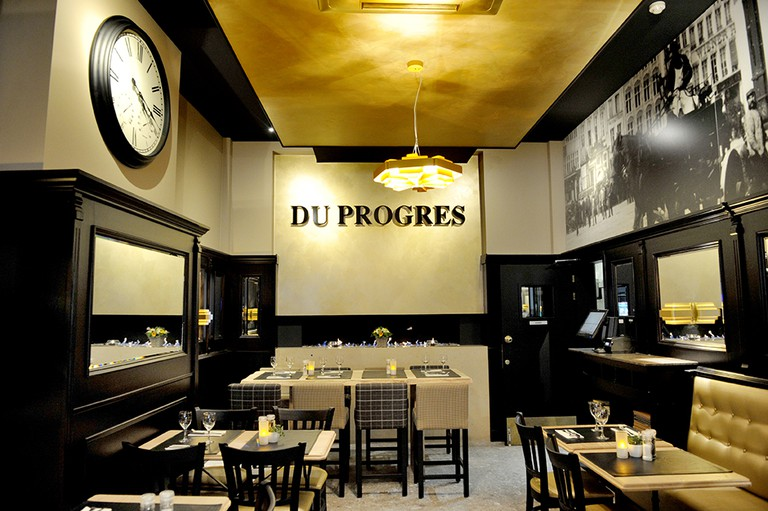 The long-standing family-run brasserie Du Progres holds a special place in the hearts of many people from Ghent