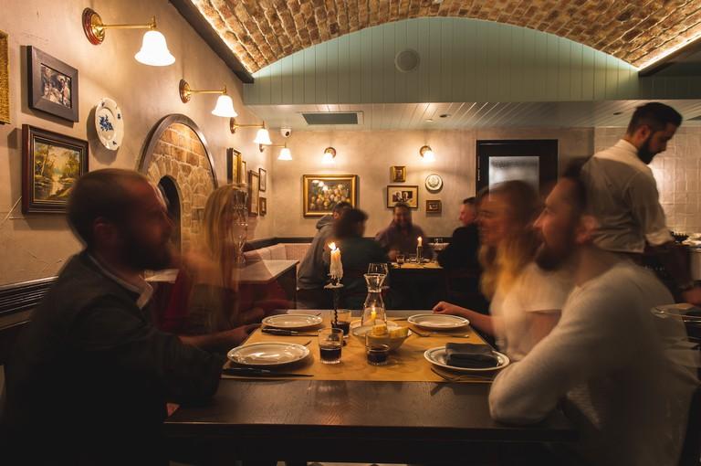 Dining Room at Bistecca © Bistecca