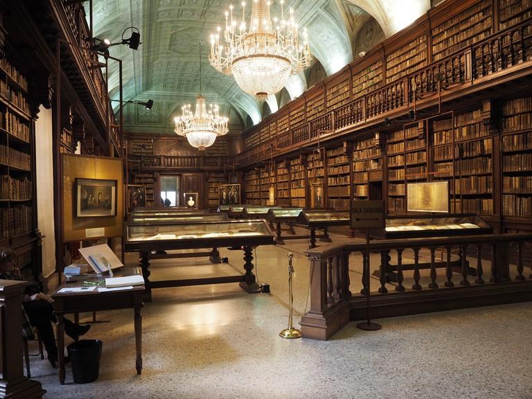 Braidense National Library, Brera Palazzo del Collegio, Milan, Lombardy, Italy, Europe