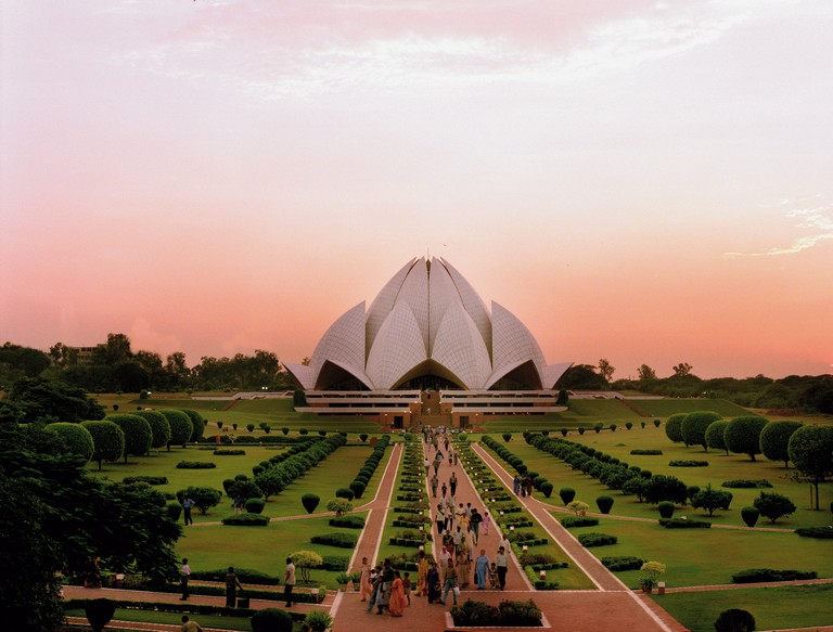 Bahai Lotus temple New Delhi