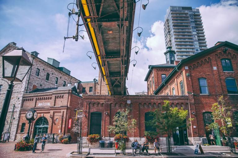 The Distillery District - Toronto, Ontario