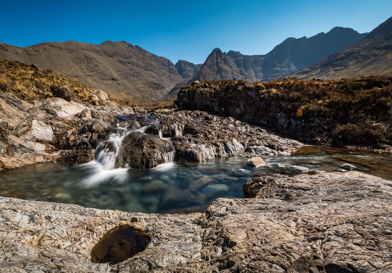 The Fairy Pools in Isle of Skye