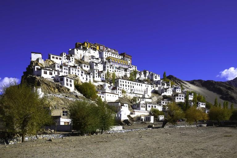 Thiksey monastery, Ladakh, India.