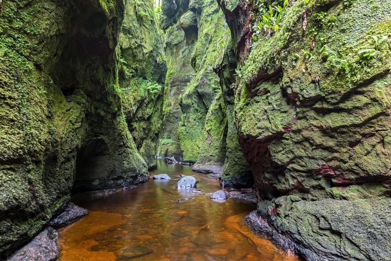 The Devil's Pulpit, Scotland.