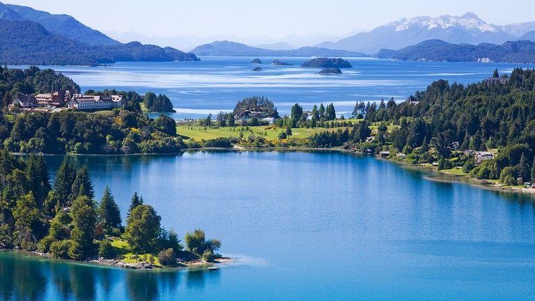 Bariloche offers chalet architecture, bright-blue lakes and snow-capped mountains