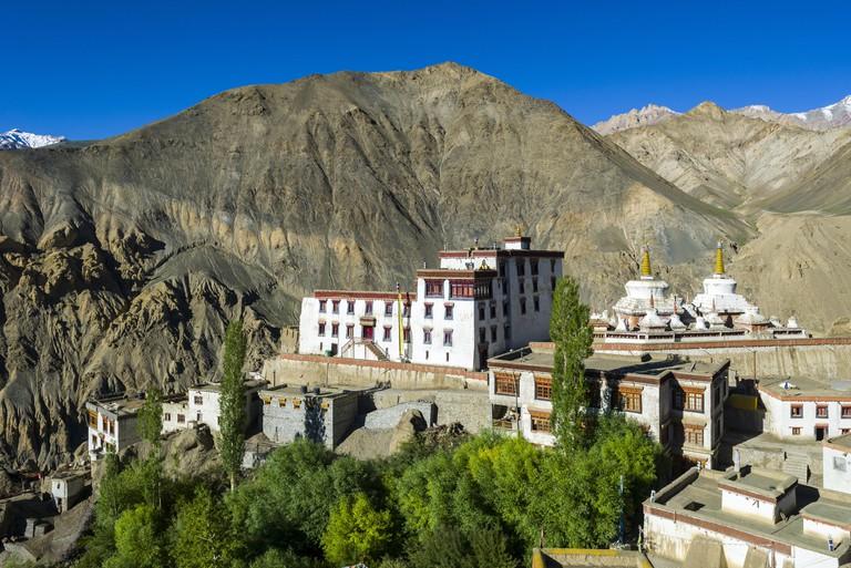 Lamayuru Gompa, a very old monastery in india